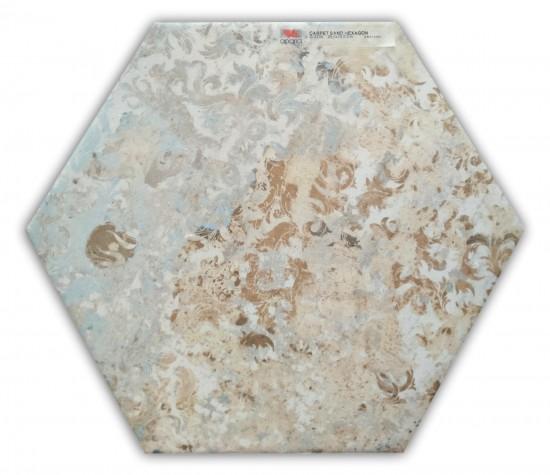 płytka heksagonalna carpet Carpet Sand Hexagon Aparici