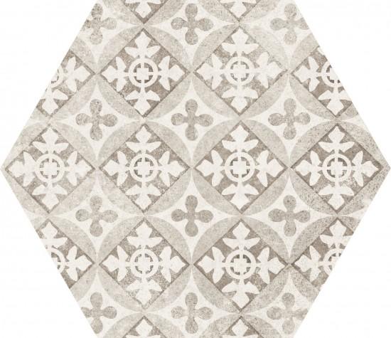 hexagon 17,5x20 kafelki na ściane podłoge płytki do łazienki salonu kuchnhi matowe nowoczesna łazienka salon kuchnia