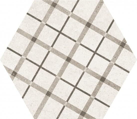 hexagon kafelki na ściane podłoge 17,5x20 matowe nowoczesna klasyczna łazienka salon kuchnia