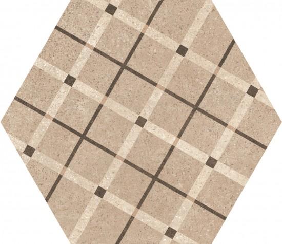 hexagon 17,5x20 kafelki na ściane podłoge płytki do łazienki salonu kuchni gresowe matowe