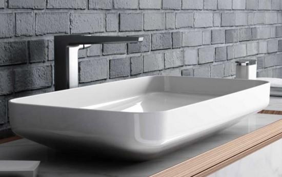 eto umywalka prostokątna umywalka nalbatowa umywalka łazienka ceramika