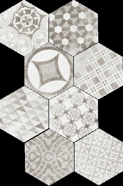 Hexatile Cement Garden Grey 17,5x20