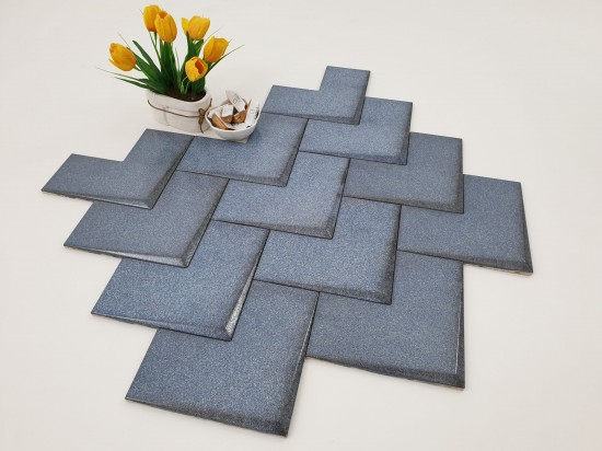 WOW DESIGN Elle Blue Raku 20x20
