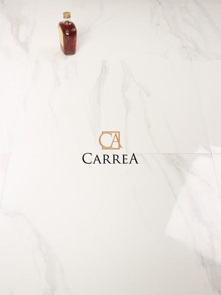 białe płytki do salonu marmurowe carrara navarti Forum Blanco RC 60x60