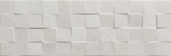 szare dekoracje płytki zenith strukturalne 25x75 łazienkowe 3d