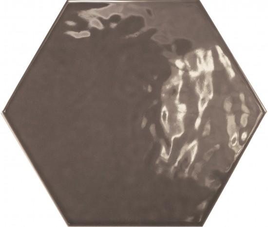 hexagon kafle do łazienki płytki ścienne nowoczesna łazienka salon kuhcnia w połysku 17,5x20