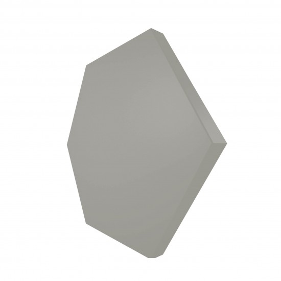 wow design nowoczesna łaizenka heksagon na ściane szary