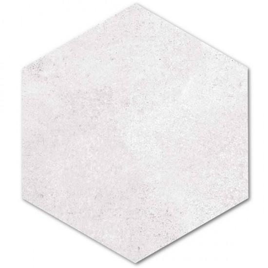 Vives płytki hexagonalne 23x26,6 płytki szare matowe na podłoge ściane płytki mrozoodporne płytki surowy beton