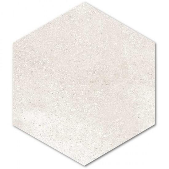 Vives płytki hexagonalne bezowe matowe płytki na podłoge ściane płytki do łazienki kuchni salonu 23x26,6