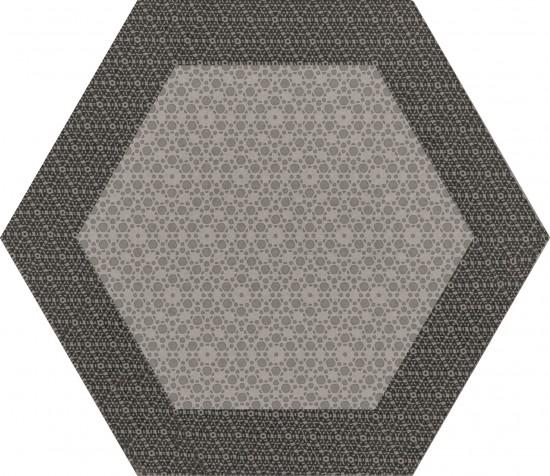 hexagon  kafelki na ściane podłoge matowe nowoczesna łazienka