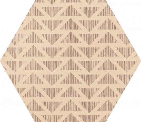 hexagon multikolor nowoczesna łazienka salon kafelki na ścciane podłoge 17,5x20