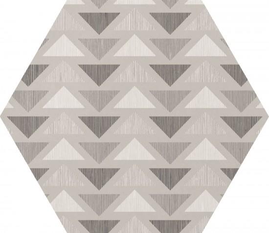 hexagon matowy multikolor kafelki na ściane podłoge nowoczesna łazienka 17,5x20
