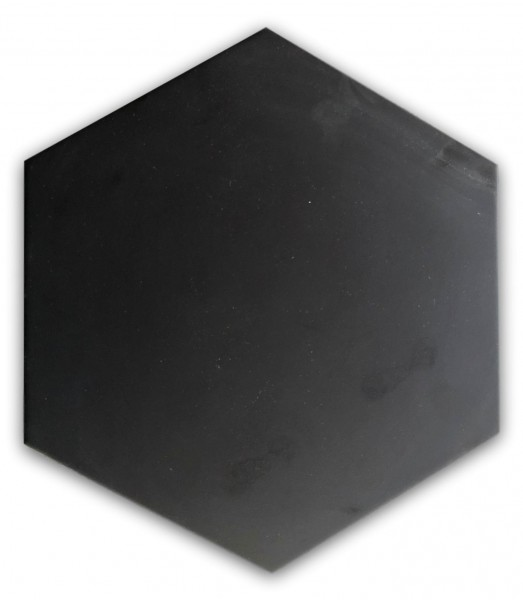 czarny heksagon opal negro
