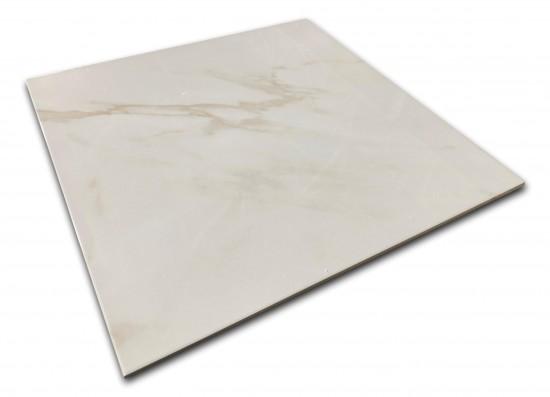 płytki w połysku 60x60 Calacatta Blanco Geotiles
