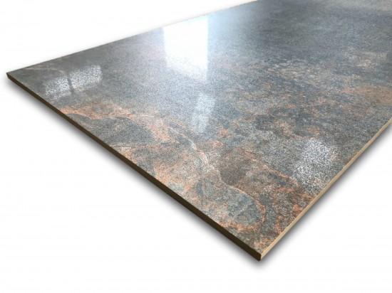 hiszpański gres zirconio 60x120 metalizowany Rust Oxide Lappato