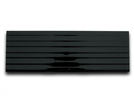 Living Liner Negro Brillo 20x60 Navarti ścienne czarne dekor