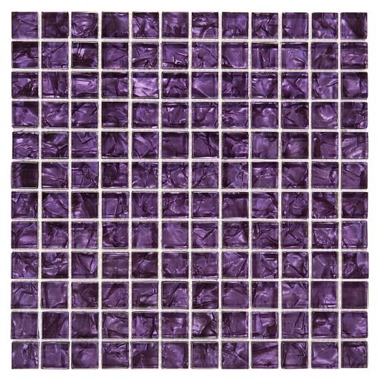 Dunin mozaika szklana fioletowa mozaika 30x30