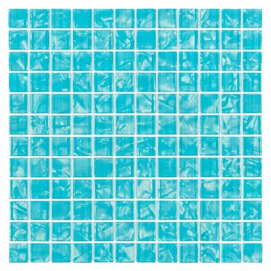 Dunin niebieska mozaika szklana 30x30 mozaika łazienkowa błękitna mozaika 30x30