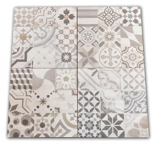 płytki patchwork 33x33
