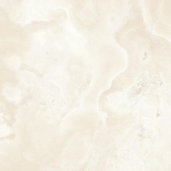 płytki beżowe imitujące onyks 60x60 płytki podłogowe nowoczesna łazienka salon kuchnia gres Monaco Ivory Pulido Aparici
