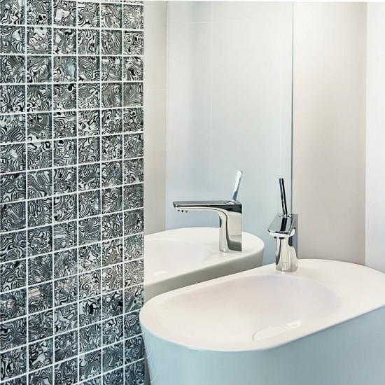 dunin mozaika szklana mozaika łazienkowa mozaika czarno biała