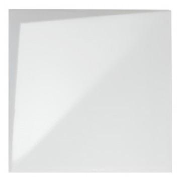 Wow design płytki dekoracyjne białe kafelki z połyskiem nowoczesna łazienka kuchnia salon