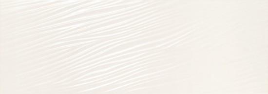 Fanal białe płytki na ściane matowe rektyfikowane płytki dekoracyjne płytki z falami nowoczesna klasyczna łazienka kuchnia