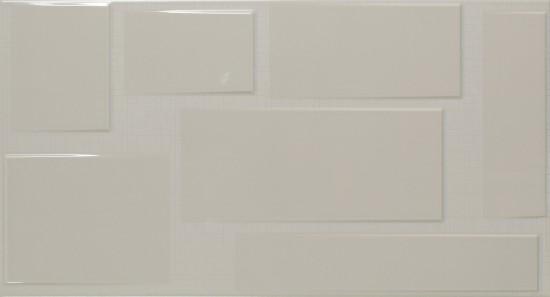 Fanal szara płytka na ściane  30x60 płytka do łazienki kuchni nowoczesna łazienka kuchnia w szarości  płytka dekoracyjna