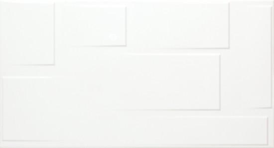 Fanal biała płytka dekoracyjna w połysku płytka do łazienki kuchni nowoczesna łazienka kuchnia w połysku
