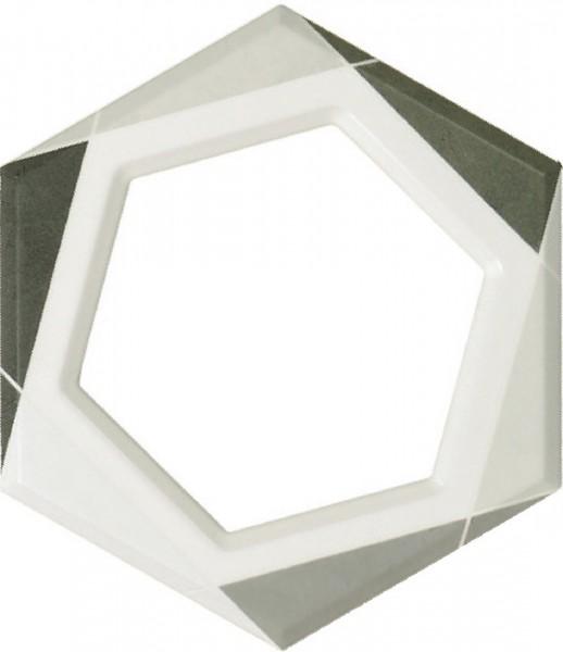 Fanal płytka hexagon drewnopodobna na ściane 25x22 łazienka w drewnie