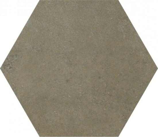 płytki ścienne podłogowe hexagonalne nowoczesny styl brązowe Recover Vision  Hexagon Aparci