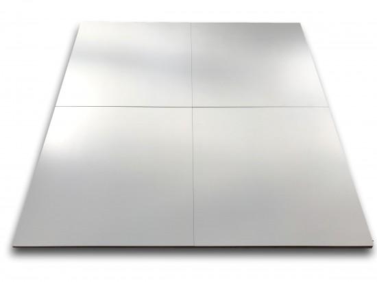 płytki podłogowe białe matowe do salonu i łazienki firmy roca Pure White 60x60