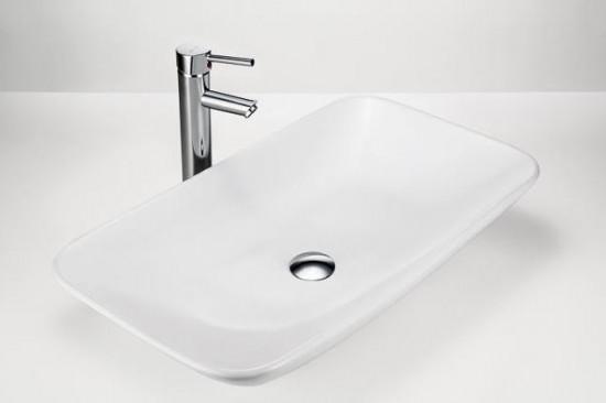 Massi biała umywalka nablatowa  nowoczesna łazienka