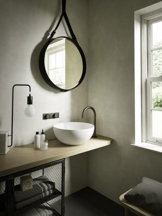 hatria umywalka okrągła umywalka nablatowa ceramika łazienka