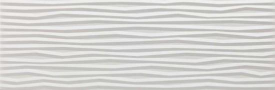 płytki z falą dekoracyjne białe