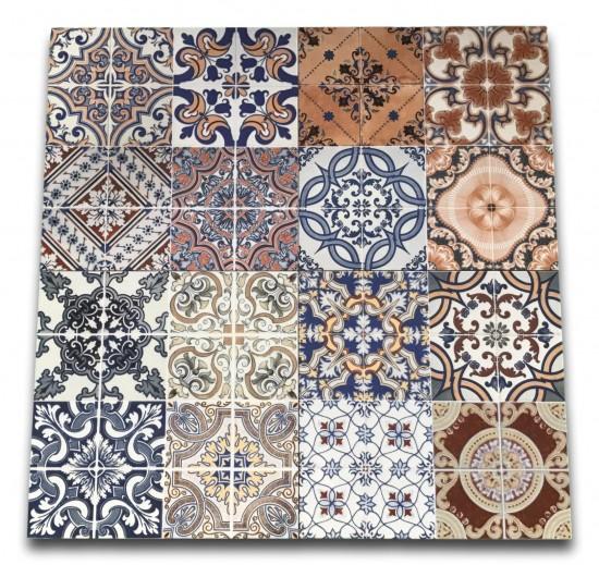 Płytki Baldocer Triana 44,7x44,7 w stylu patchwork