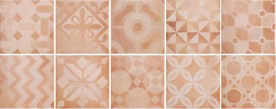 płytki dekoracyjne podłogowe do łazienki Marsala Decor Warm Argenta